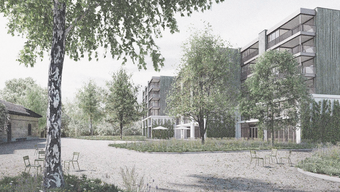 Das Siegerprojekt aus dem Architekturwettbewerb heisst «Der Himmel ist grün». Der beliebte Spielplatz wird nicht aufgehoben, aber auf verschiedene Standorte verteilt.