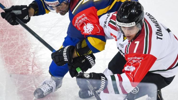 Henrik Tömmernes (rechts): verteidigt kommende Saison für Servette.