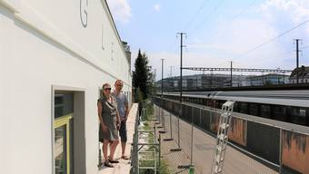 Gleis 21 - Sanierung vor dem Stadtfest 08.08.18