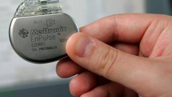 Ein Herzschrittmacher der Medizinaltechnikfirma Medtronic