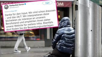 Die Stadtpolizei Zürich lässt Zanetti eiskalt abblitzen