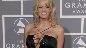 Die unter dem Alias Stormy Daniels bekannte Pornodarstellerin geht juristisch gegen den US-Präsidenten Donald Trump vor. (Archivbild)