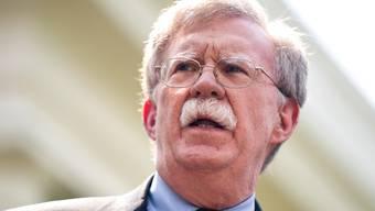 John Bolton sagt: «Die Stimmung im Weissen Haus war wie in einem Studentenwohnheim.»