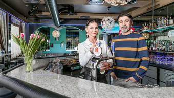 Brigitte Musa und Farzandeh Mokkarram haben die Safari-Bar gründlich erneuert.