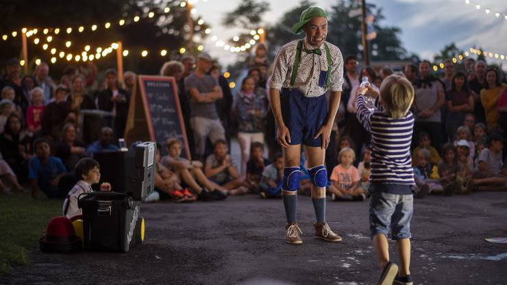 Impressionen des letztjährigen Zürcher Theaterspektakels.