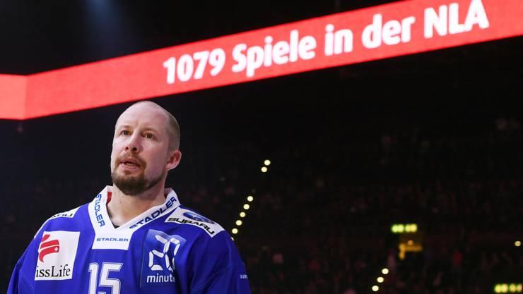 ZSC-Saurier Mathias Seger hat nach 21 Saisons in der NLA noch nicht genug