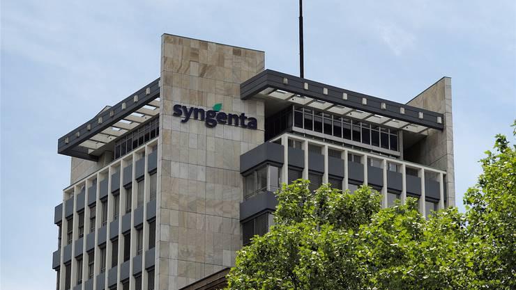 Der Syngenta-Hauptsitz in Basel.