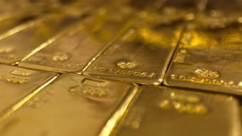 Die Goldbarren, welche in einem Zug vergessen wurden, haben einen Wert von rund 182'000 Franken. (Symboldbild)
