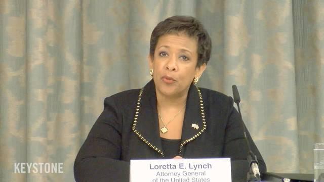 US-Justizministerin Loretta Lych über die Fortschritte bei den Fifa-Untersuchungen