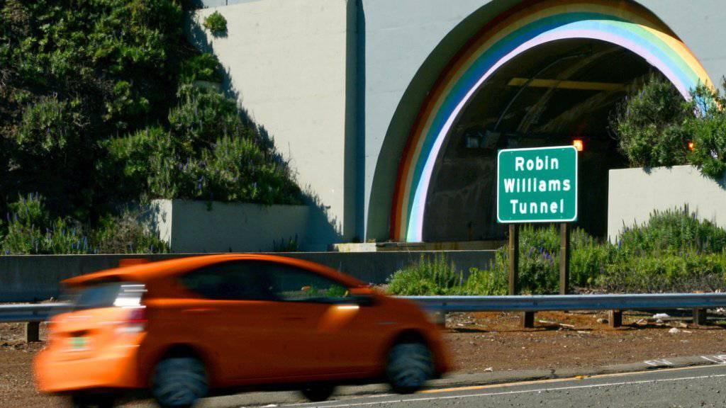 Ein Tunnel zu Ehren eines grossen Schauspielers: der Robin Williams Tunnel. Der Schauspieler nahm sich vor eineinhalb Jahren das Leben