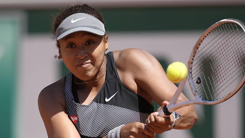 Naomi Osaka ist in Wimbledon nicht zu sehen