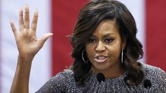 Ein rassistische Beleidgung an die Adresse von Michelle Obama löst in den USA eine Welle der Empörung aus.