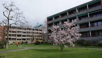 Alterssiedlung des Alterszentrums Am Bachgraben: Die Gebäude müssten saniert werden – doch der Gemeinde fehlt das Geld.