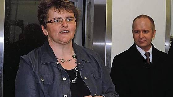 Ursula Egli ist neben ihrer politischen Tätigkeit Hauspflegerin und Bäuerin FA.
