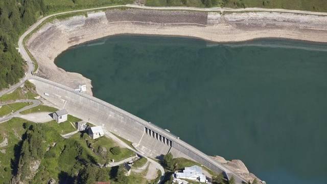Neues Wasserkraftwerk am Ritom-See ist in der Pipeline (Archiv)