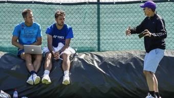 Sie waren wie füreinander geschaffen: Trainer Magnus Norman (l.) und Stan Wawrinka gehen getrennte Wege.