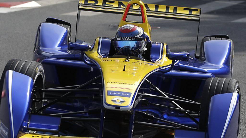Sébastien Buemi erreichte in Paris Platz 3 im Rahmen der Formel-E-Meisterschaft