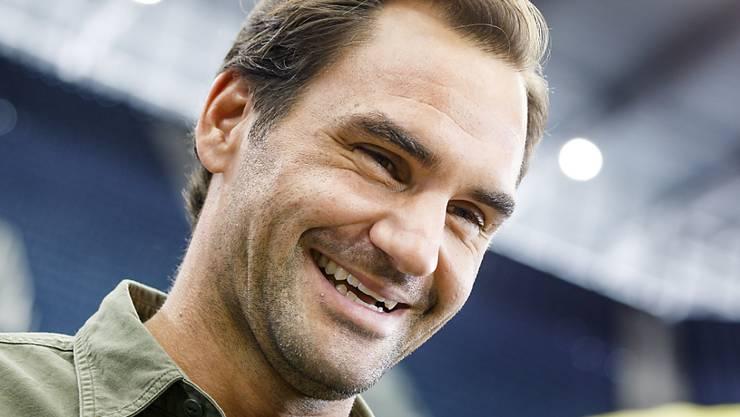 Fühlt sich im Moment pudelwohl und kann sich vorstellen, auch mit 40 noch zu spielen: Roger Federer in New York
