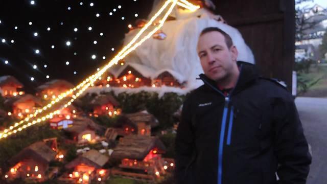 Fredy Umbricht über das grosse Weihnachtskrippendorf in Untersiggenthal