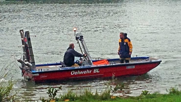 Die tote Frau wurde im Rhein bei Muttenz entdeckt.