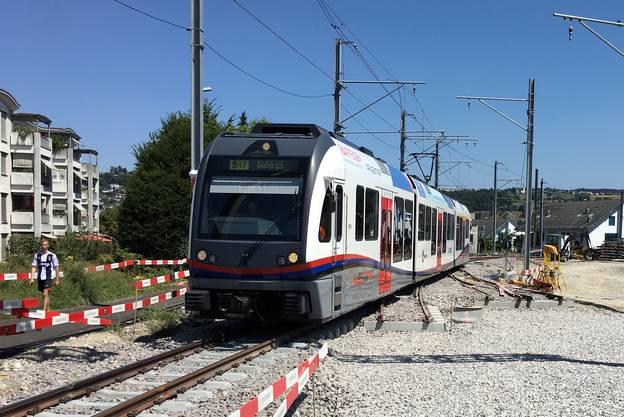 Die dritte und letzte Etappe des Streckenausbaus der BDB (Aargau Verkehr AG) zwischen Bremgarten und Wohlen steht kurz vor der Vollendung.