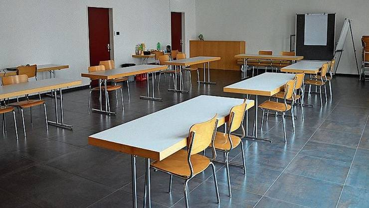Das Foyer: Bald ein Raum für Schulkinder statt für Vereine.