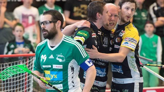 Matthias Hofbauer war im Cupspiel gegen Sarnen mit fünf Treffern der überragende Mann.