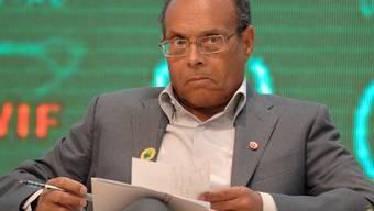Der Präsident Tunesiens, Moncef Marzouki, fordert von der Schweiz die blockierten Gelder (Archiv)