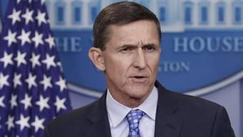 Kommt Trumps früherer Sicherheitsberater Michael Flynn wegen zahlreichen Lügen mit einer Bewährungsstrafe davon? (Archivbild)