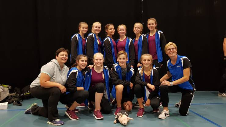 Jugendaerobic Boswil mit Leiterinnen