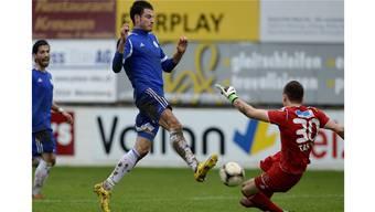 FC Grenchen verliert gegen Wohlen mit 0:4