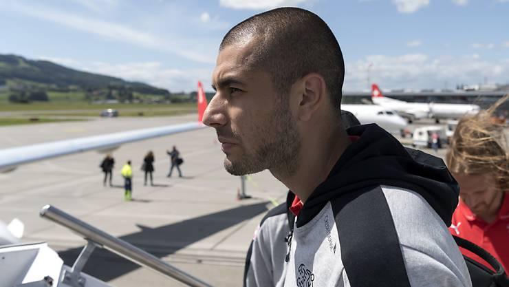 Eren Derdiyok trat die Reise nach Deutschland nicht an. (Archivaufnahme)
