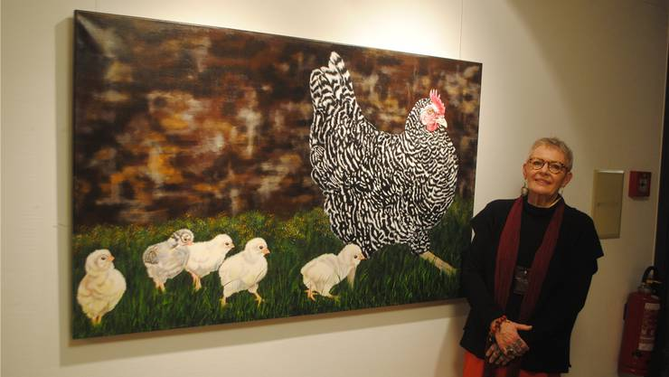 Jeanette Lerch stellt bis 25. März im Adamhaus aus.