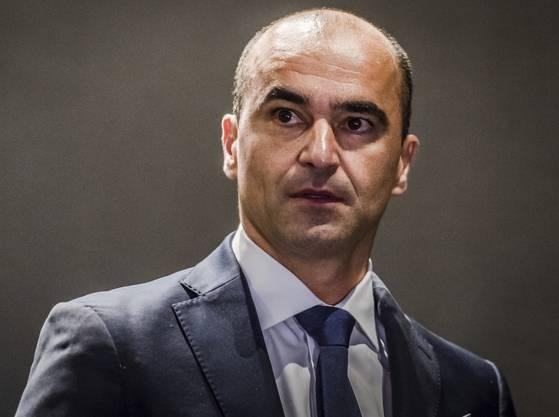 Roberto Martinez, Trainer von Belgien, hat seine Weltklasse-Fussballer gut im Griff.
