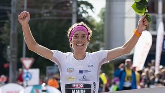 Maude Mathys lief zu ihrem dritten EM-Titel (Archivbild)