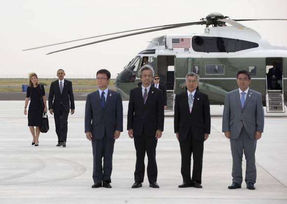 US-Präsident Obama in Tokoname.