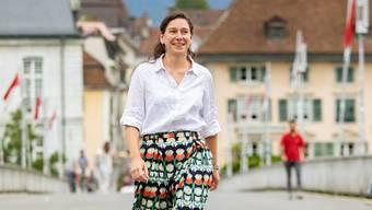 Will den Schwung der Klimawahl mitnehmen: Laura Gantenbein.