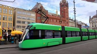 Flexity Basel: Das neue Tram der BVB Basler Verkehrs-Betriebe