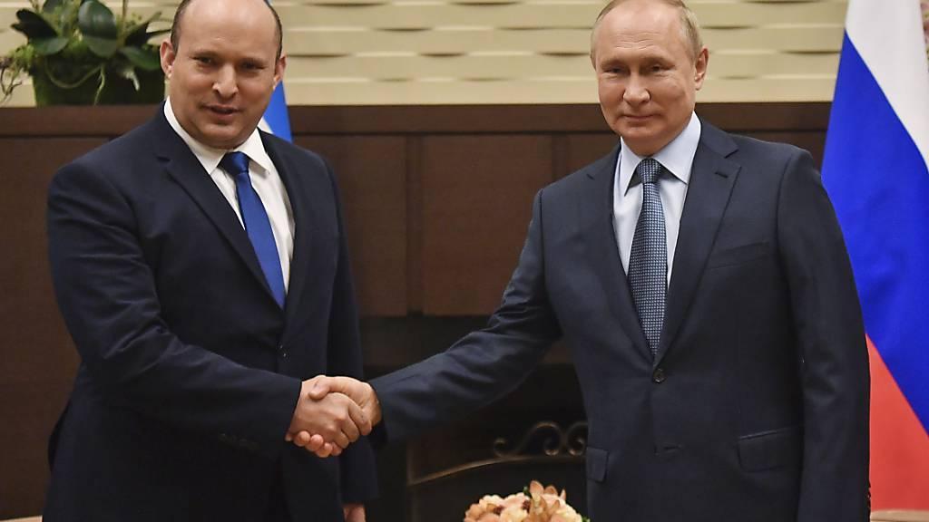 Putin trifft Bennett: Russland will enger mit Israel zusammenarbeiten
