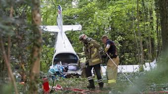 Flugzeugabsturz in Colombier: zwei Todesopfer (5.7.2017)