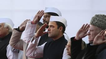 Rahul Gandhi, der Vize-Präsident der Kongress-Partei (Archiv)