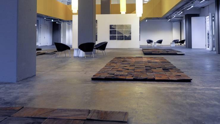 Die Werke von Beat Breitenstein sind gegenwärtig im Foyer U90 in Kleinhüningen zu sehen