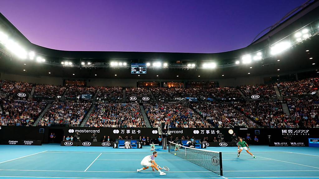 Volle Stadien wie im letzten Januar wird es am Australian Open 2021 nicht geben