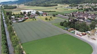 Im Ribiacker und Halmacker plant die Meier Tobler AG ihr Logistikzentrum der Zukunft.