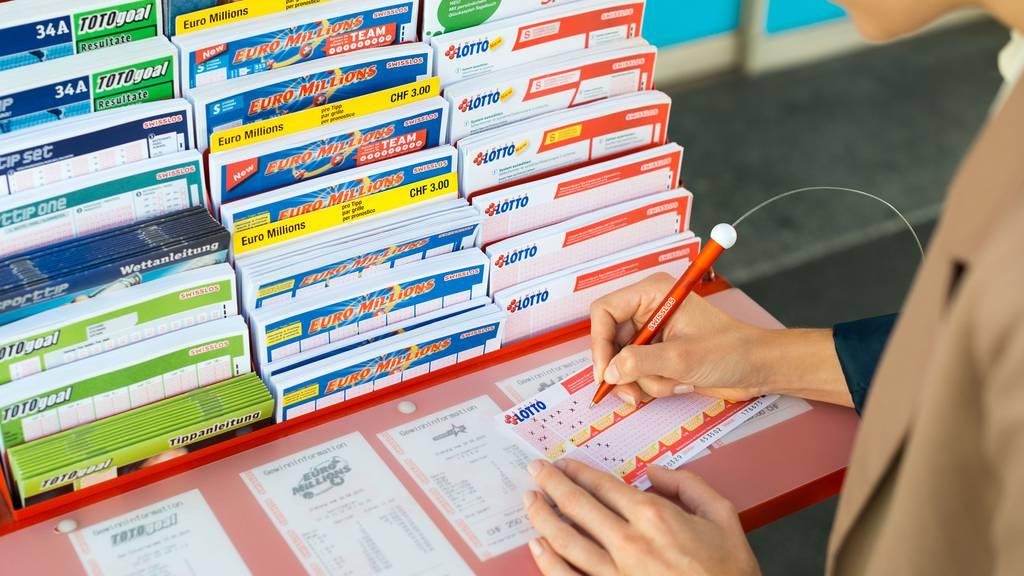 35 Millionen Franken: Schweizer Lotto-Jackpot geknackt