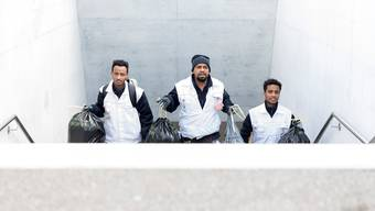 Unterwegs mit dem Team Clean
