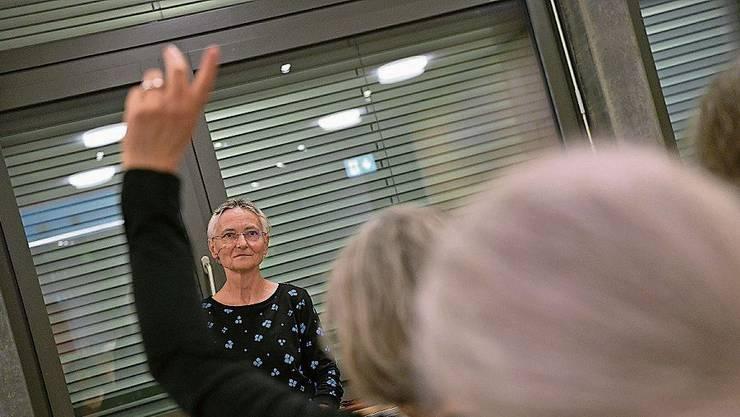 Im Februar stellte Erika Preisig der Bevölkerung von Hofstetten-Flüh ihr Projekt vor.