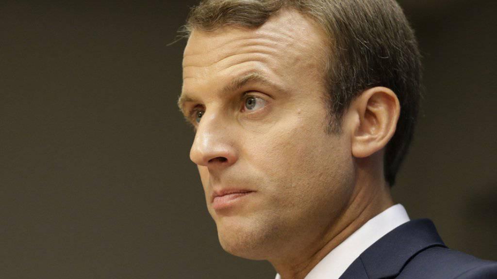 Macron sieht die Reform als nötigen Schritt gegen die hohe Arbeitslosigkeit, die bei rund zehn Prozent liegt. (Archivbild)