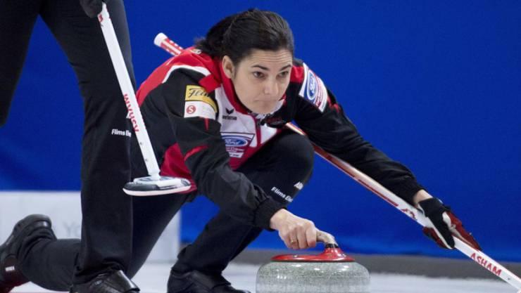 Binia Feltscher ist auf dem WM-Eis wieder besser unterwegs