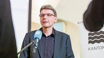 Nach der erfolgreichen Wahl in den Regierungsrat steht Dieter Egli im Mittelpunkt des Interesses.